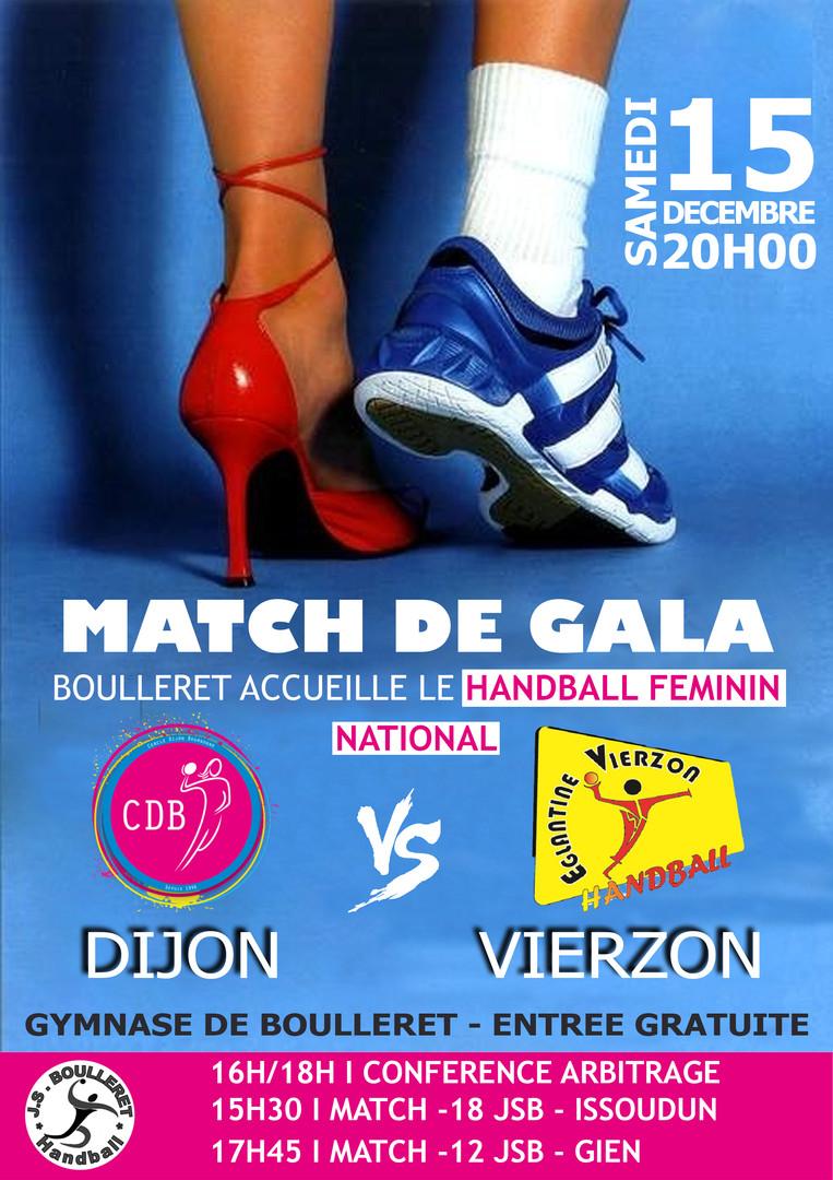 Affiche match de GALA
