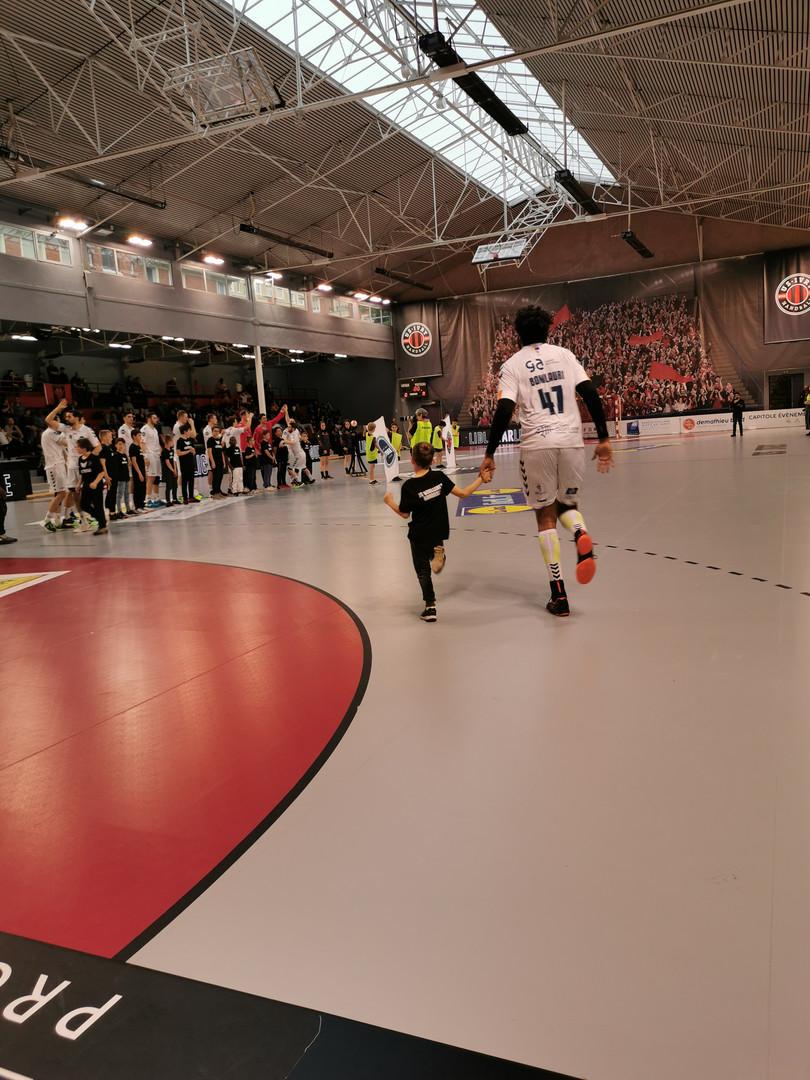 La JS Boulleret Handball à la Maison du Handball.jpg