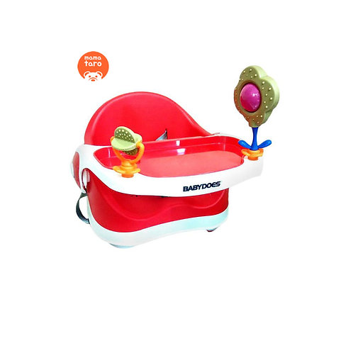 BabyDoes Booster Seat Red