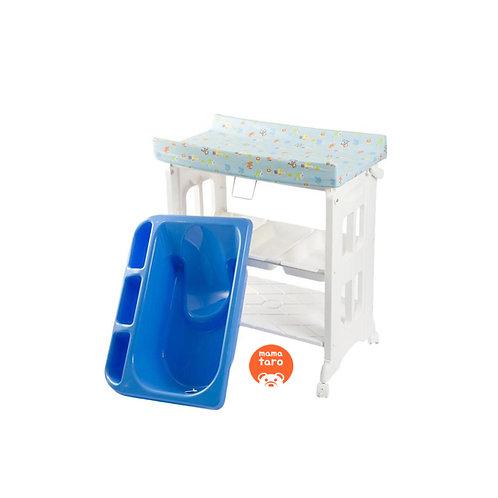 Karibu 2in1 Bath & Changing Station (Baby Tafel) - Biru