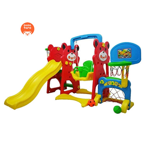 Labeille Panda 4 in 1 Slide and Swing