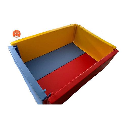 sewa bumperbox playmat untuk bayi di mamataro.id, mulai 5ribuan per hari.