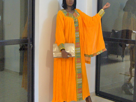 TREND ALERT: Traditional Ethiopian Dresses Are Taking Dakar By Storm!