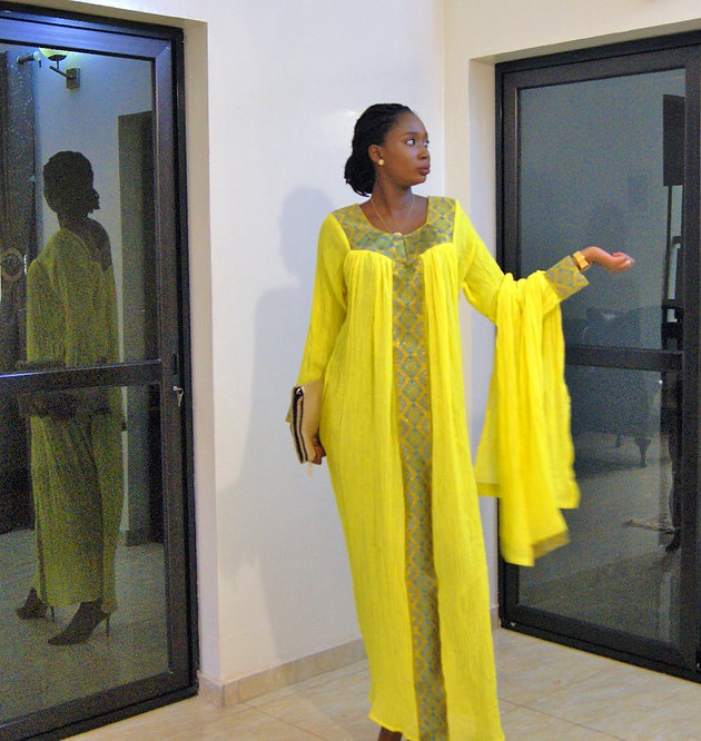 TREND ALERT: Traditional Ethiopian Dresses Are Taking Dakar