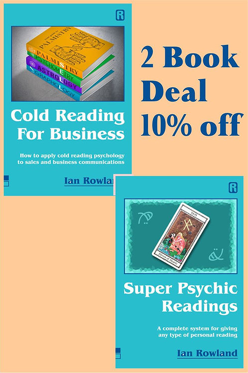 2 Book Discount Deal: SPR + CRFB. 10% OFF