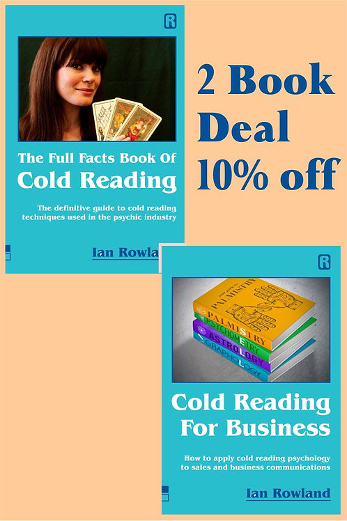 2 Book Discount Deal: FF Bk Cold Reading + CRFB. 10% OFF