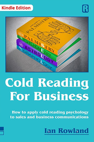 Cold Reading For Business (Kindle)