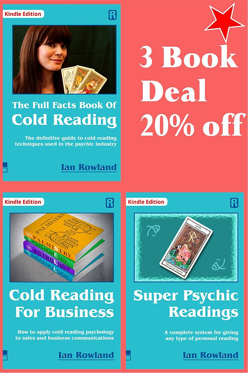 3 Book Discount Deal: FF CR + SPR + CRFB. 20% OFF. KINDLE