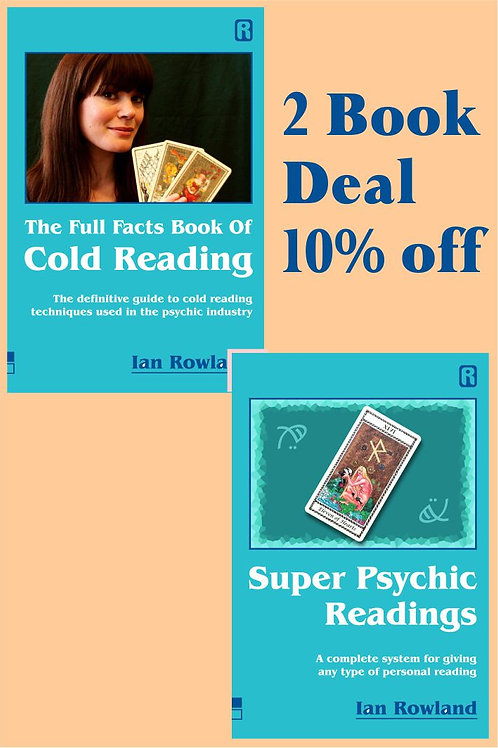 2 Book Discount Deal: FF Bk Cold Reading + SPR. 10% OFF