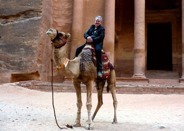040 2009 Jordan Petra Me On Camel ver2.j