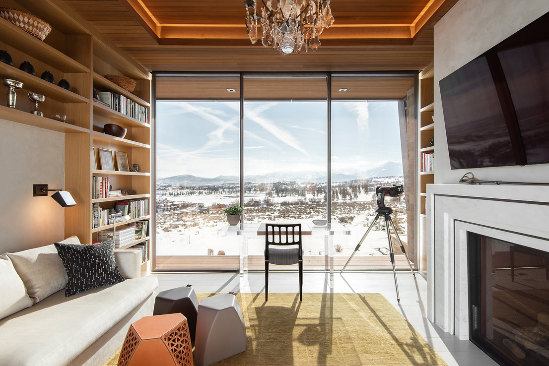 A home designed by Kerry Nicole Designs in Park City, Utah.