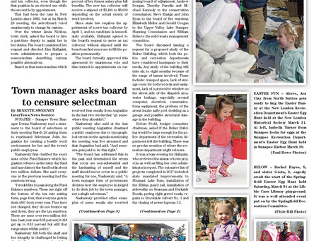 The April 3, 2018 edition of the InterTown Record available online now!