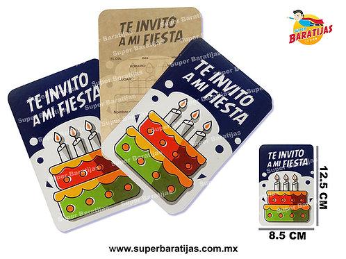 INVITACIONES SURTIDAS