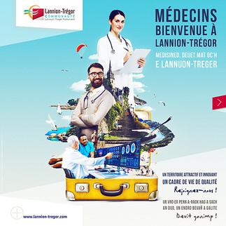 Campagne recrutement medecins - CIAS Lannion
