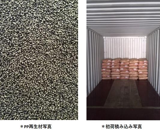 物性保証されたPP再生材料の生産・販売拡大