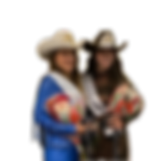 Miss and Teen Rodeo Pennsylvania at pagent coronation ceremony