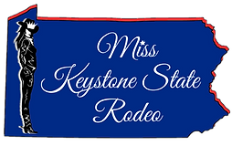 Miss Keystone State Rodeo Logo transpare