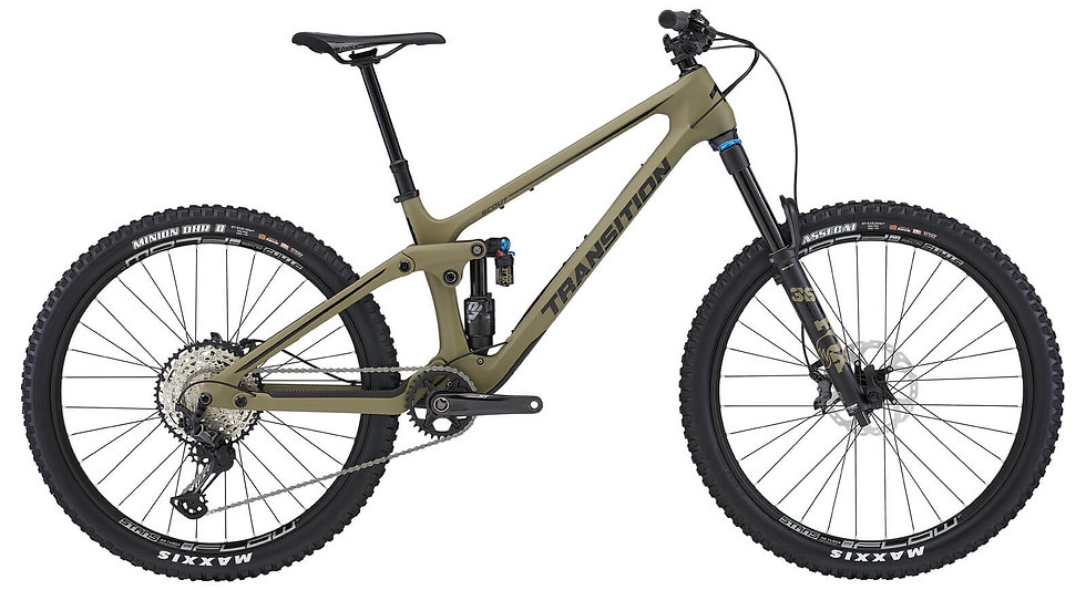 Transition Scout Olive Green XT
