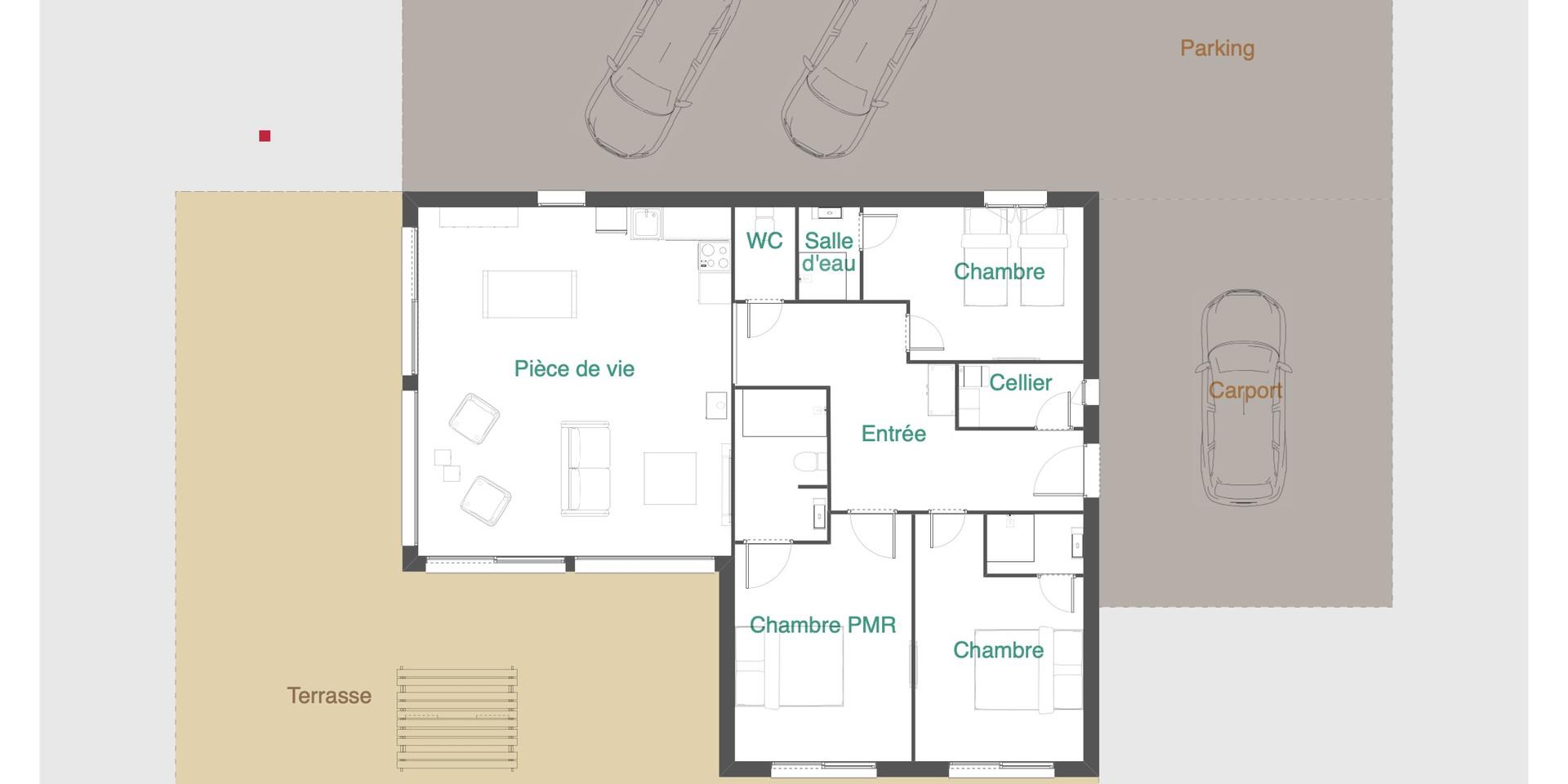 Plan Chalet Manhattan