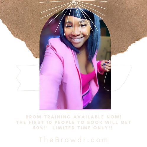 Brow Training DEPOSIT ONLY