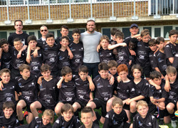 Rugby camp with Jamie Roberts