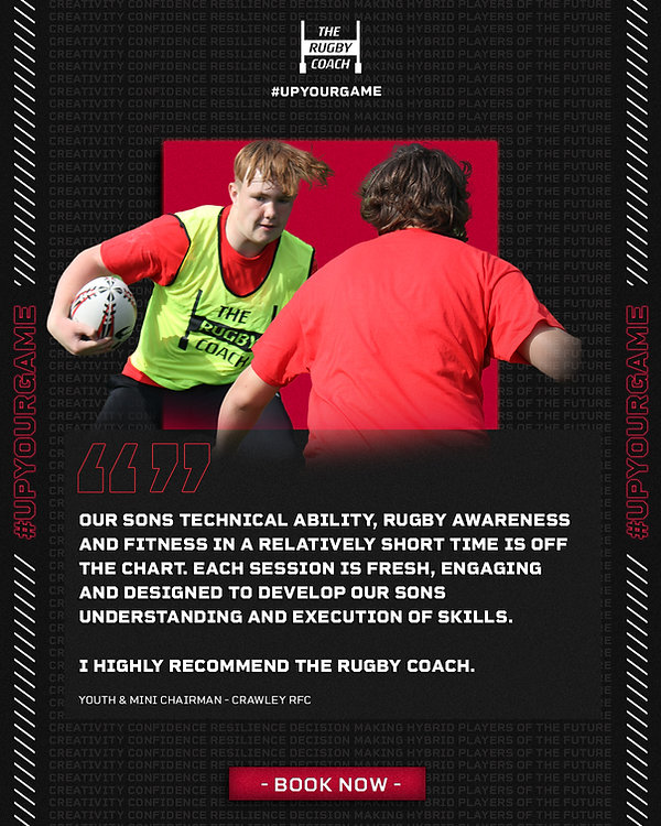 Private Rugby Coaching Testimonial