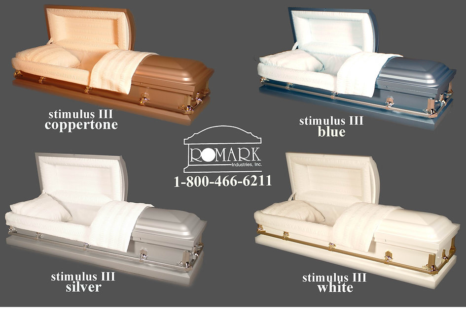 Our variety of metal caskets