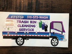 Palisades Pitstop Trash Bin Cleaning Service Business Card