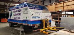 Palisades Pitstop Trash Bin Cleaning Truck (Rear)