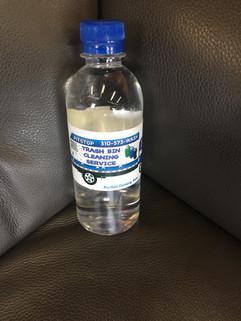 Palisades Pitstop Trash Bin Cleaning Service Water Bottle
