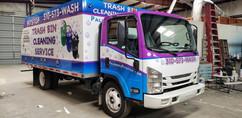 Palisades Pitstop Trash Bin Cleaning Truck (Left Side)