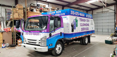 Palisades Pitstop Trash Bin Cleaning Truck (Right Side)
