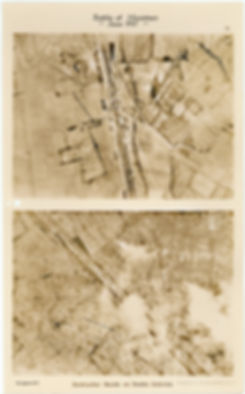 More 6 Squadron aerial photos of White Chateau near Hollebeke, taken by 6 Squadron before and after the Battle of Messines, 1917