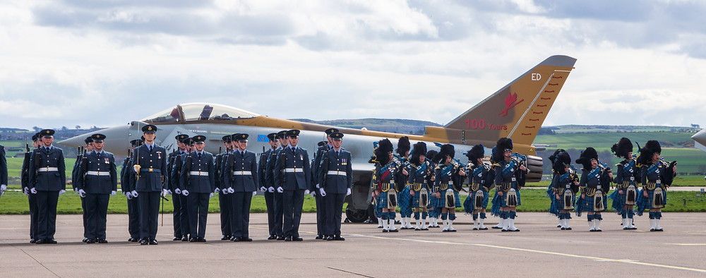 6 Squadron Royal Air Force centenary parade