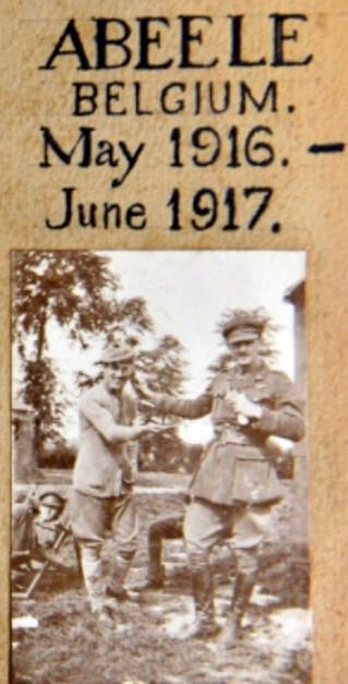 6 Squadron Photo Album Cover 1916