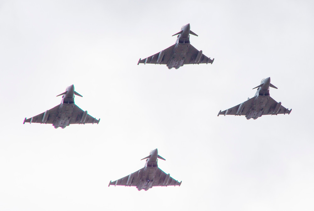 6 Squadron Royal Air Force - 100 year flypast