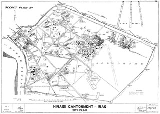 Hinaidi Cantonment - Site Plan 1932