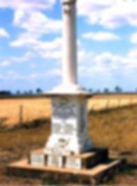 WW1 memorial Alton Downs Queensland (Sgt Ernest Handley RFC)