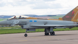 New Paint Job for 6 Squadron Royal Air Force Typhoon!