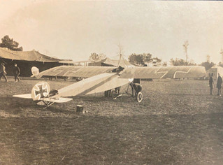 Rare Photo of an Early Fokker Monoplane