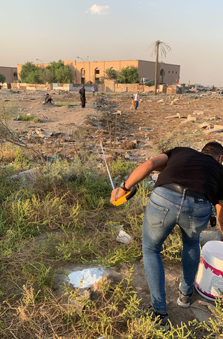 Restoration Works Commence at Ma'Asker RAF Cemetery!