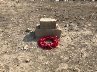 Remembrance Day at Hinaidi (Ma' Asker Al Raschid) RAF Cemetery