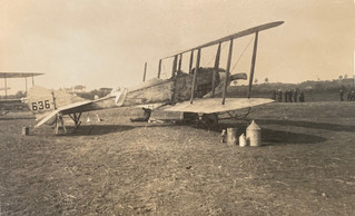 6 Squadron BE2 - Union Jack