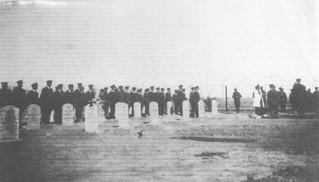 Burial at Hinaidi (Ma'Asker Al Raschid) RAF Cemetery 1925