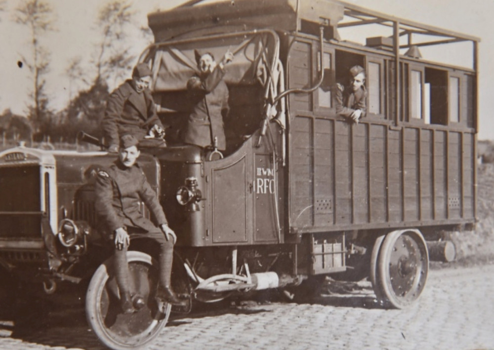 Mobile Photographic Laboratory RFC WW1
