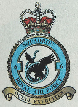6 Squadron Royal Air Force - Current Emblem