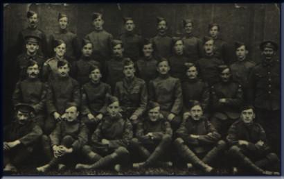 6 Squadron c1915 (Captainb Lanoe Hawker in centre)