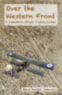 The front cover to Over the Western Front, the latest book from Steve Buster Johnson