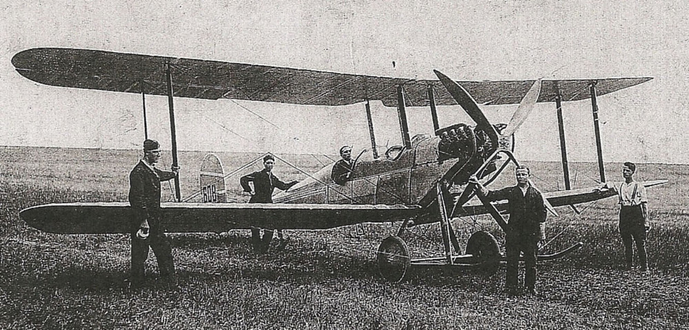 Royal Aircraft Factory RE1 - on charge 6 Squadron RAF in 1914