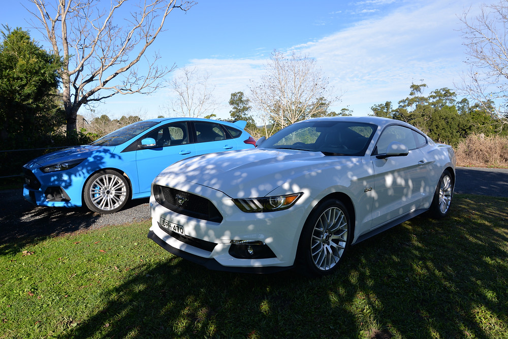 The Ford RS and Ford Mustang GT - a perfect combination in anyone's garage